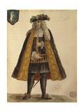 Sardinian Ambassador Giclée-Druck von Jan van Grevenbroeck