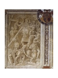 Scene from Cycle on Trajan's Column, 1511-1513 Giclée-tryk af Baldassare Peruzzi
