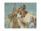 Aeneas Introducing Cupid Dressed as Ascanius to Dido, 1757 - 1757 Giclee Print by Giovanni Battista Tiepolo