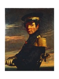 Portrait of Naval Officer, 1845 Giclee Print by Jean-François Millet