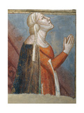Tomb of Tessa De' Bardi: Lamentation over the Dead Christ Giclee Print by Taddeo Gaddi