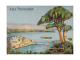 Cunard Line Promotional Brochure for the R.M.S 'Franconia' C.1926-30 Giclee Print