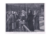 Conference Between the Houses of Parliament Ad 1835 Giclee Print by Paul Hardy