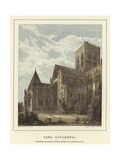 York Cathedral, Northern Transept, Central Tower and Chapter House Giclee Print by Hablot Knight Browne