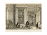 Entrance to the Hall, Sutton Place, Near Guildford, Surrey Giclee Print by Joseph Nash