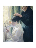 Mother and Daughter, 1879 Giclee Print by Federico Zandomeneghi
