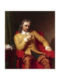 Portrait of Oliver Cromwell, 1868 Giclee Print by Charles Lucy