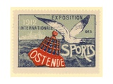 International Sports Exhibition, Oostende, Belgium, 1912 Giclee Print