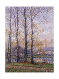 The Banks of the Oise at Precy; Les Bords De L'Oise a Precy Giclee Print by Gustave Loiseau