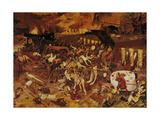 The Triumph of Death, C.1562 Giclée-Druck von Pieter Bruegel the Elder