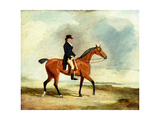 Francis Const on His Bay Hunter Riding Near the Sea, 1806 Giclee Print by Benjamin Marshall