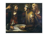 Esau Sells His Birth Right Giclee Print by Gioacchino Assereto