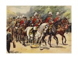 Procession of Nine Kings, Funeral of King Edward VII, 20 May 1910 Giclee Print by Henry Payne