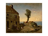 Millet's Birthplace at Gruchy Giclee Print by Jean-François Millet
