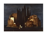 Isle of Dead, First Version, 1880 Giclee Print by Arnold Bocklin