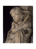 The Baby Jesus, Detail from Madonna and Child Giclee Print by  Michelangelo Buonarroti