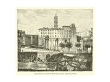 Tabularium and Back of Senatorial Palace, from the Forum Giclee Print