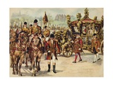 Coronation Procession of King George V, 22 June 1911 Giclee Print by Henry Payne