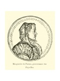 Margaret of Parma, Governess of the Spanish Netherlands Giclee Print