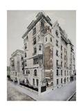 Castel Beranger in Paris, Design Giclee Print by Hector Guimard