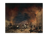 Ten Days of Brescia at Torrelunga Gate Giclee Print by Faustino Joli