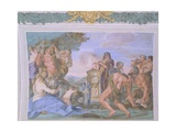 Frescoes of Gallery in Villa Chigi, Rome Giclee Print by Pietro da Cortona