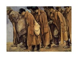 Siberian Prisoners in Wetzlar, 1916 Giclee Print by Maurice de Becque