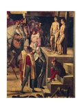 Autodafe Chaired by San Domenico Guzman Giclee Print by Pedro Berruguete