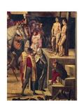 Autodafe Chaired by San Domenico Guzman Giclee Print by Pedro Berruguete