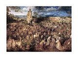 The Procession to Calvary, 1564 Giclee Print by Pieter Bruegel the Elder