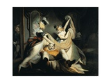 Falstaff in the Laundry Basket, 1792 Giclee Print by Henry Fuseli