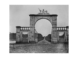 The Lion Gate at Mote Park, the Crofton Family Home, C.1859 Giclee Print by Augusta Crofton