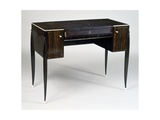Art Deco Style Ladies Writing Desk, Stamped Gicleetryck av Jacques-emile Ruhlmann