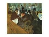 At Moulin Rouge, 1892-1895 Lámina giclée por Henri de Toulouse-Lautrec