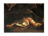 Pastors Being Transformed into Frogs by Latona Giclée-tryk af Giuseppe Maria Crespi