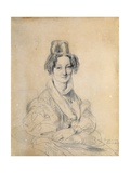 Portrait of Madame Hittorff, 1829 Giclee Print by Jean-Auguste-Dominique Ingres