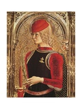 Representation of St George, Detail of the Altarpiece Giclee Print by Carlo Crivelli