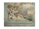 Armida Abducting the Sleeping Rinaldo, 1757 - 1757 Giclee Print by Giovanni Battista Tiepolo