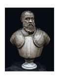 Girolamo Perato, Italian Admiral, Marble Bust Giclée-Druck von Alessandro Vittoria