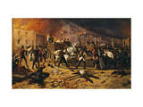 Ten Days of Brescia, Defense of Port Torrelunga in 1849 Giclee Print by Faustino Joli
