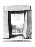 A Peep into the Sanctum Sanctorium, 1724 Giclee Print by Haynes King