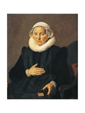 Portrait of Sarah Andriesdochter Hessix, 1626 Giclee Print by Frans Hals
