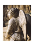 Angel Candelabra for the Ark of St Dominic Giclee Print by  Michelangelo Buonarroti