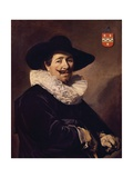 Portrait of Andries Van Der Horn, 1638 Giclee Print by Frans Hals