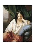 Revenge in Harem, Greek, 1854 Giclee Print by Federico Faruffini