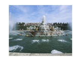 France, Palace of Versailles, Basin of Latona Giclee Print by Gaspard Marsy