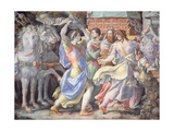 Triumph of Camillo, Scene from 'Stories of Furius Camillus', C.1545 Giclée-tryk af Francesco De Rossi Salviati Cecchino