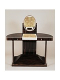 Art Deco Style Dressing Table with Columns Gicleetryck av Jacques-emile Ruhlmann