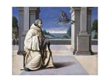 Vision of St Bernard Giclee Print by Francesco Ubertini Bacchiacca