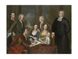The Bermuda Group, Dean Berkeley and His Entourage, 1728, Reworked 1739 Giclee Print by John Smibert